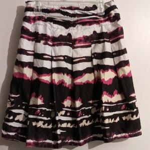 Dresses & Skirts - Watercolor Printed Midi Skirt